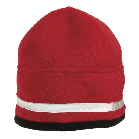 Jacob Ash Attakid Reflective Stripe Beanie Hat - Polartec® Fleece (For Kids)