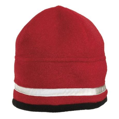 Jacob Ash Attakid Reflective Stripe Beanie Hat - Polartec® Fleece (For Kids)