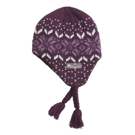 Jacob Ash Attakid Ear Flap Hat - Tie Strings and Tassels (For Toddler Girls)