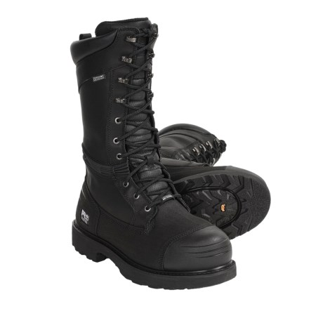 """Timberland Pro Mining Steel Toe Boots - 14"""", Waterproof, Insulated (For Men)"""