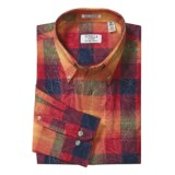 Viyella Cotton Plaid Shirt - Long Sleeve (For Men)