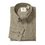 Viyella Windowpane Sport Shirt - Cotton-Merino Wool, Long Sleeve (For Men)