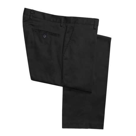 Report Collection Cotton Stretch Pants - Flat Front (For Men)