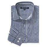 Report Collection Gingham Jaquard Sport Shirt - Long Sleeve (For Men)