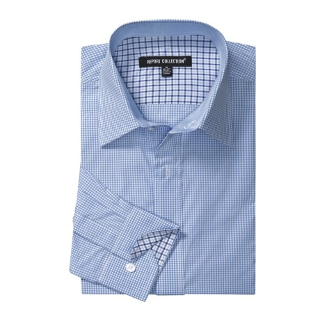 Report Collection Cotton Gingham Shirt - Long Sleeve (For Men)