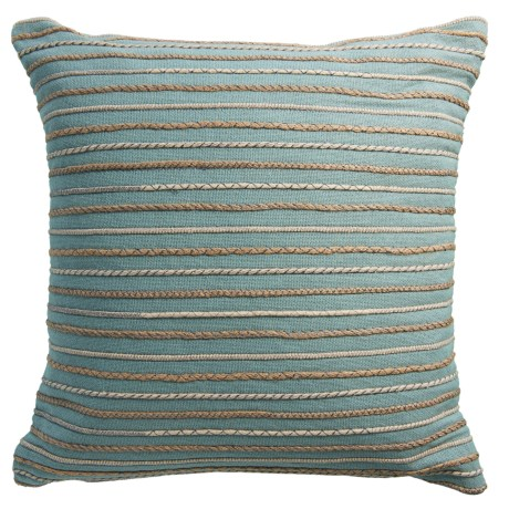"""Rizzy Home Rope Stripe Decor Pillow - 20x20"""""""