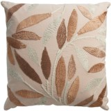 Rizzy Home Leaf Decor Pillow -20x20""