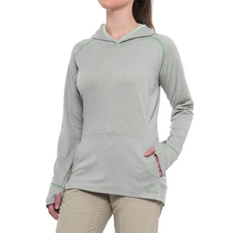 Simms BugStopper® Hoodie Shirt - UPF 50+, Long Sleeve (For Women)