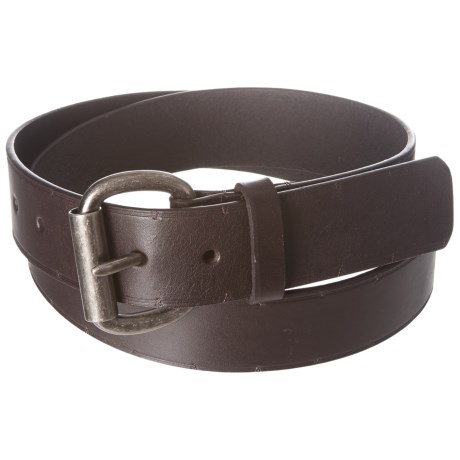 American Endurance Roller Buckle Leather Belt (For Men)