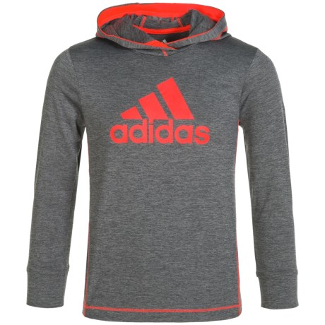 adidas Coast-to-Coast ClimaLite® Hoodie (For Little Boys)