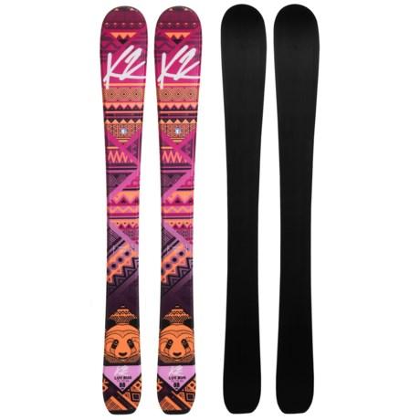 K2 Luv Bug Jr. Alpine Skis (For Big Kids)