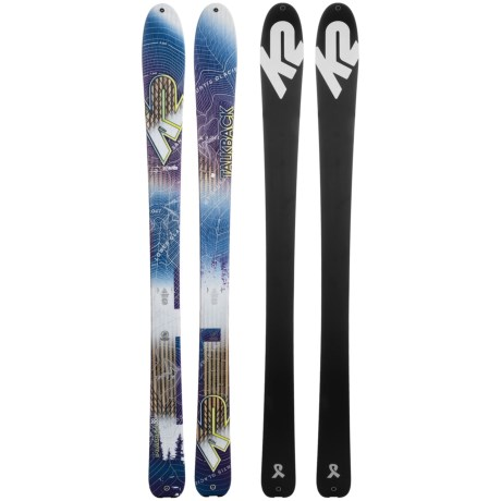 K2 Talkback 88 ECOre Alpine Skis (For Women)