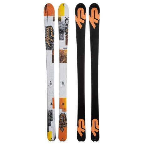 K2 Wayback 82 Alpine Skis