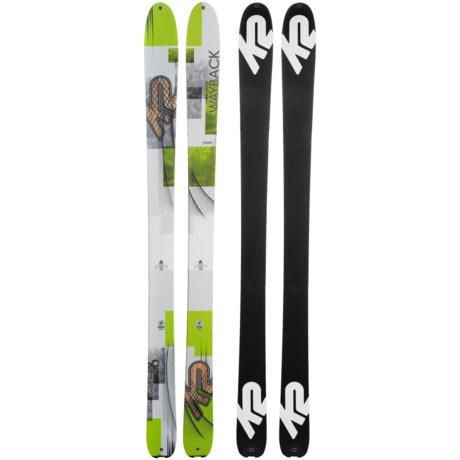 K2 Wayback 96 Skis