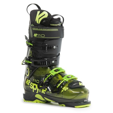 K2 SpYne 110 Ski Boots (For Men and Women)
