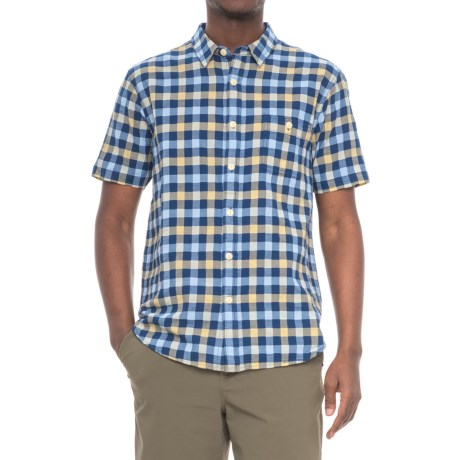 True Grit Beach Checks Shirt - Short Sleeve (For Men)