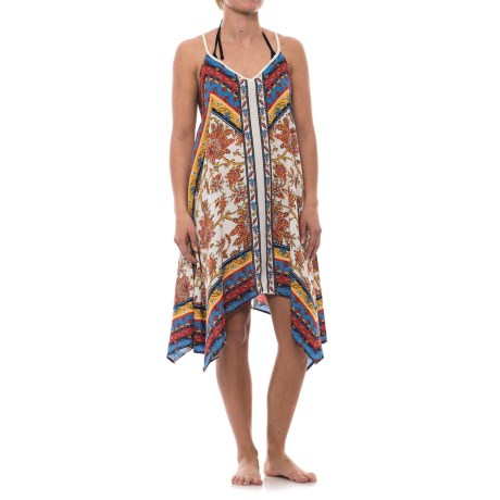 Lucky & Coco Printed Cover-Up - Sleeveless (For Women)