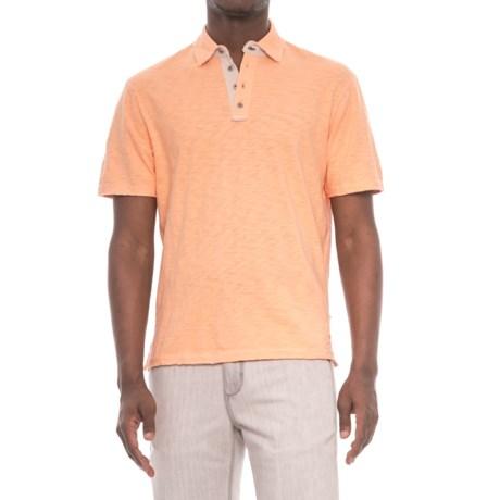 True Grit Soft Slub Vintage Polo Shirt - Short Sleeve (For Men)