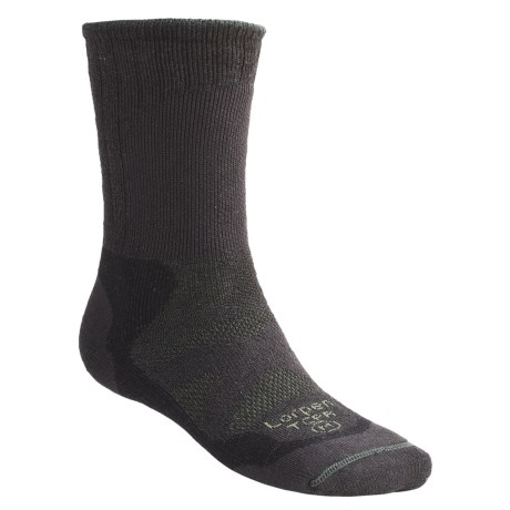 Lorpen PrimaLoft® Yarn Hiker Socks - 2-Pack, Midweight, Mid-Calf (For Men and Women)