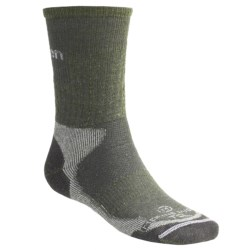 Lorpen Merino Wool Hiker Socks - 2-Pack, Midweight, Crew (For Men and Women)