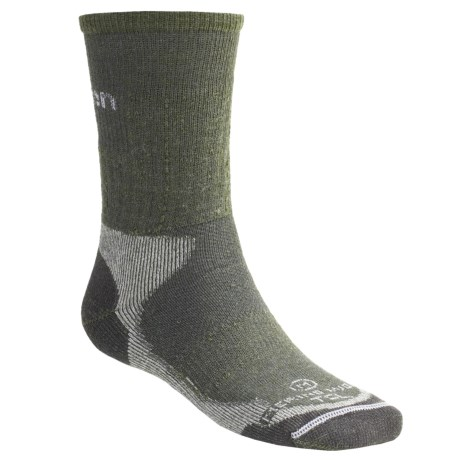 Lorpen Merino Wool Hiker Socks - 2-Pack, Midweight, Crew (For Men and Women)