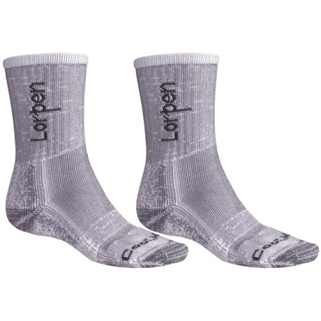 Lorpen CoolMax® Light Hiking Socks - 2-Pack, Lightweight (For Men and Women)