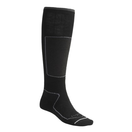 Lorpen Tri-Layer Ski Socks - 2-Pack, PrimaLoft®-Merino Wool, Over-the-Calf (For Men and Women)