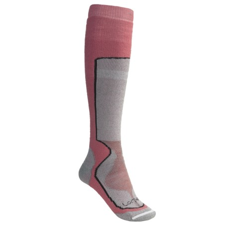 Lorpen Tri-Layer Ski Socks - PrimaLoft®-Merino Wool, 2-Pack (For Women)