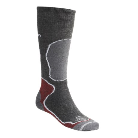 Lorpen New Merino Wool Ski Socks - 2-Pack, Lightweight (For Men and Women)