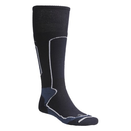 Lorpen Medium Weight Ski Socks - 2-Pack, Merino Wool (For Men and Women)