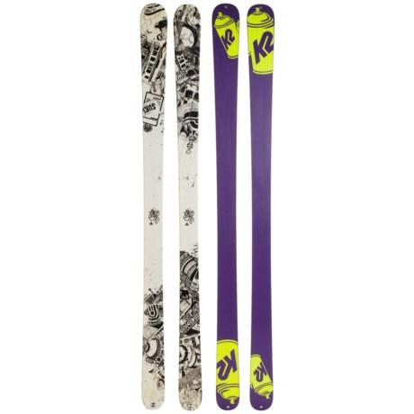 K2 Press Twin Tip Alpine Skis