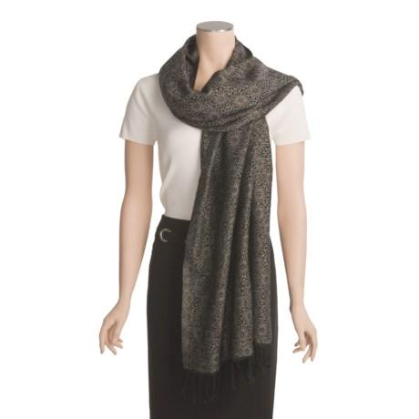 Asian Eye Debut Shawl - Fine Wool (For Women)
