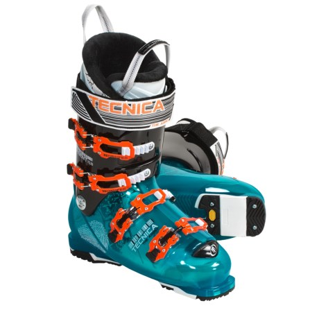 Tecnica 2010/2011 Agent 120 Ski Boots - Freeride (For Men and Women)