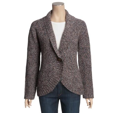 POP Cardigan Sweater - Shawl Collar (For Women)