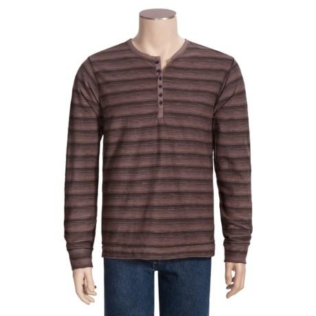Jeremiah Carver Henley Shirt - Long Sleeve (For Men)