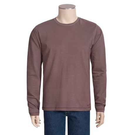 Jeremiah Clarke Crew Shirt - Long Sleeve, Jersey Cotton (For Men)