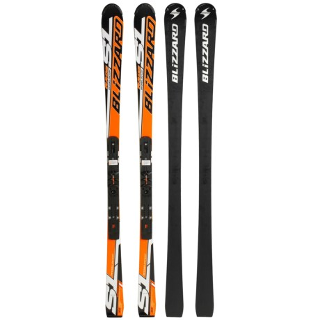Blizzard 2010/2011 SL Magnesium Alpine Skis - Marker Piston WC Plate