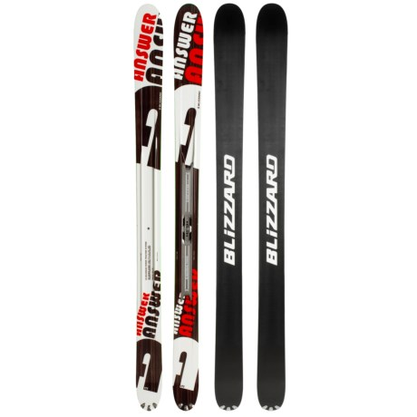 Blizzard 2010/2011 The Answer IQ Max Alpine Skis with IQ Max Slider