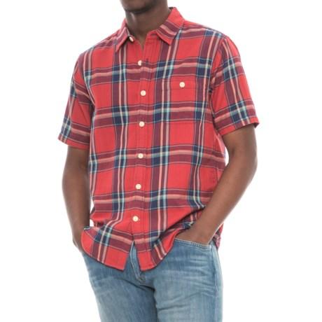 True Grit Fire Plaid Shirt - Short Sleeve (For Men)