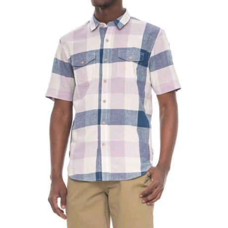 True Grit Sun Decks Checks Shirt - Short Sleeve (For Men)