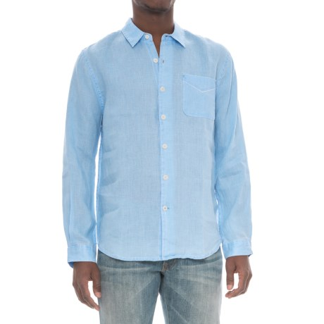 True Grit Lux Linen Shirt - Long Sleeve (For Men)