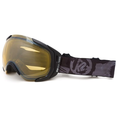 K2 Photoantic DLX Ski Goggles - Tripic Mirrored Lens