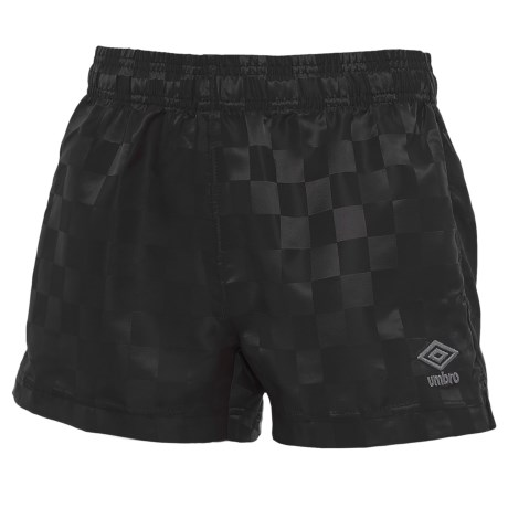 Umbro Checkerboard Shorts (For Big Girls)