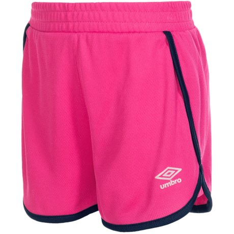 Umbro Extra Time Shorts (For Little Girls)