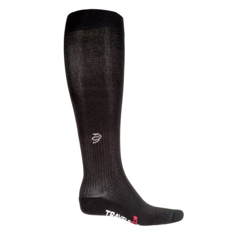 Travelsox Soft Graduated Compression Socks - Over the Calf (For Men)