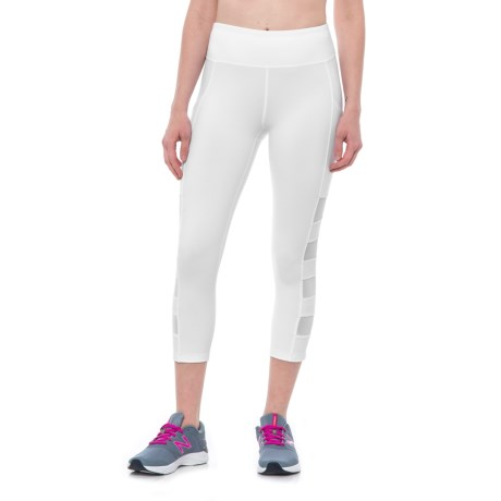 X by Gottex Mesh-Paneled Capris (For Women)