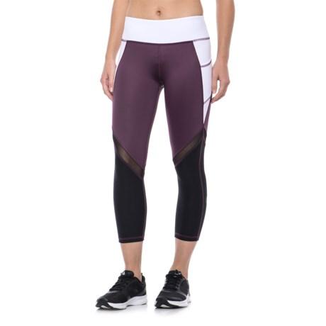 X by Gottex Color-Block Capri Leggings (For Women)