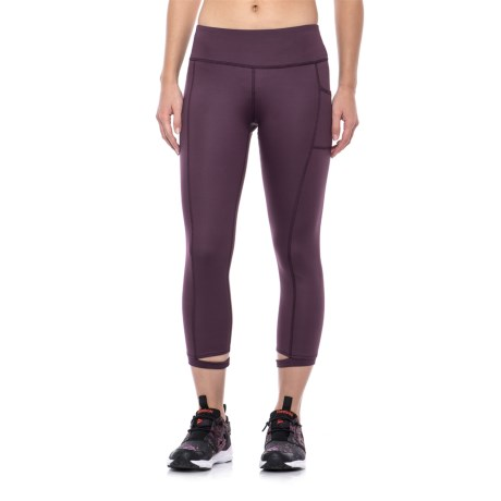X by Gottex Cut Hem Capri Leggings (For Women)