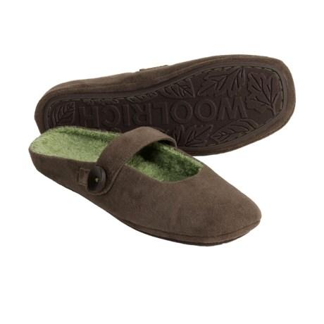 Woolrich Ambridge Slippers - Microsuede (For Women)