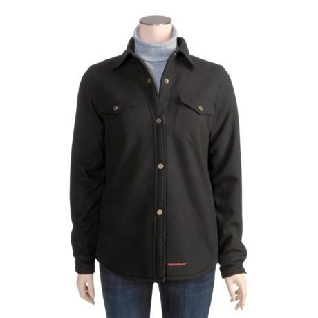Twist Bandera Shirt Jacket - Bonded Flannel (For Women)